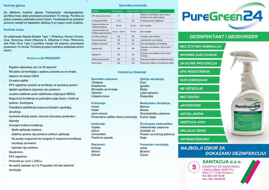 Pure Green - katalog kon. Str.1