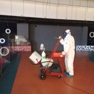 Stručni Tim Sanitacije D.o.o. Obavlja Profesionalnu Dezinfekciju Sarajevo City Centra Neškodljivim Sredstvom PureGreen24
