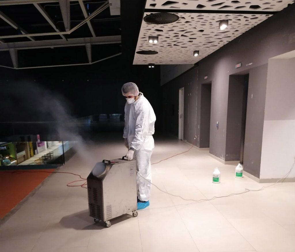 Sanitacija - Profesionalna dezinfekcija - Sarajevo City Center - PureGreen24