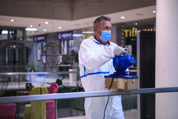 Dezinfekcija Importanne Centra U Sarajevu